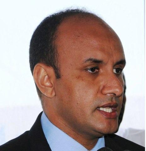 رئيس مجلس إدارة المركز ورئيس سلطة منطقة نواذيبو الحرة محمد ولد الداف