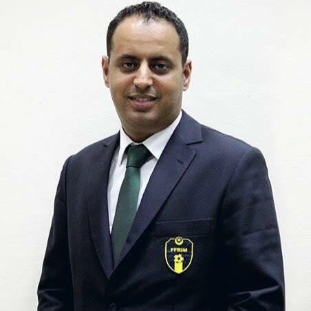 رئيس الاتحادية الوطنية لكرة القدم أحمد ولد يحي