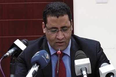 وزير الإقتصاد والمالية المختار أجاي