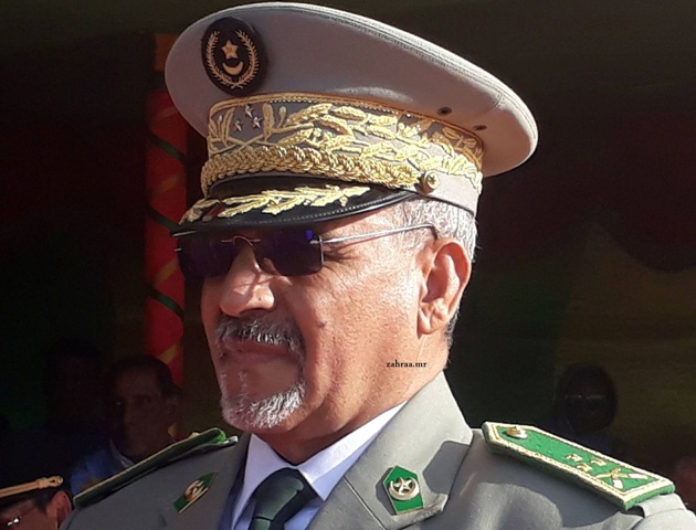قائد جهاز الشرطة بموريتانيا الفريق محمد ولد مكت