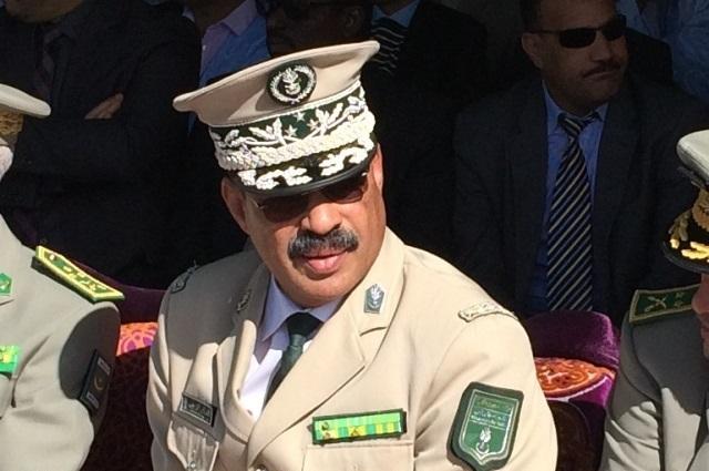 الفريق اللواء السلطان ولد أسواد قائد جهاز الدرك بموريتانيا