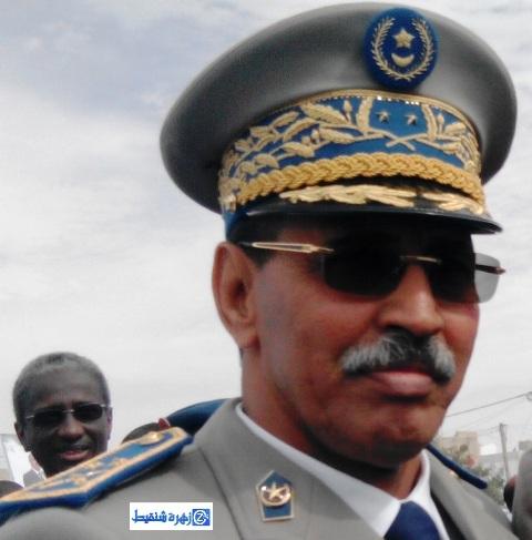 قائد جهاز الحرس الوطنى الجنرال مسغارو ولد سيدي