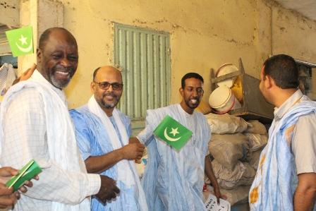 جولة ميدانية لولد منصور رفضا للتعديلات الدستورية بموريتانيا (صور)
