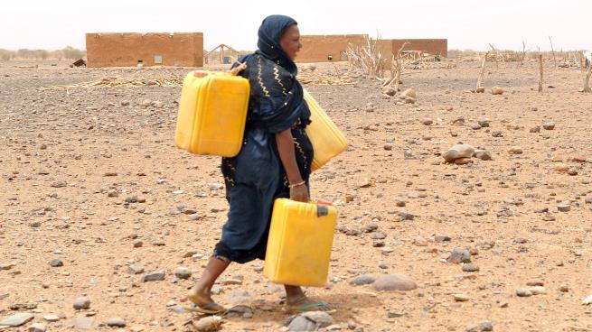 Une crise de soif frappe la ville de Adel Begrou dans l'est de la Mauritanie  | Adrar Info