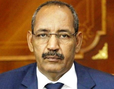 وزير الداخلية الموريتانى أحمدو ولد عبد الله