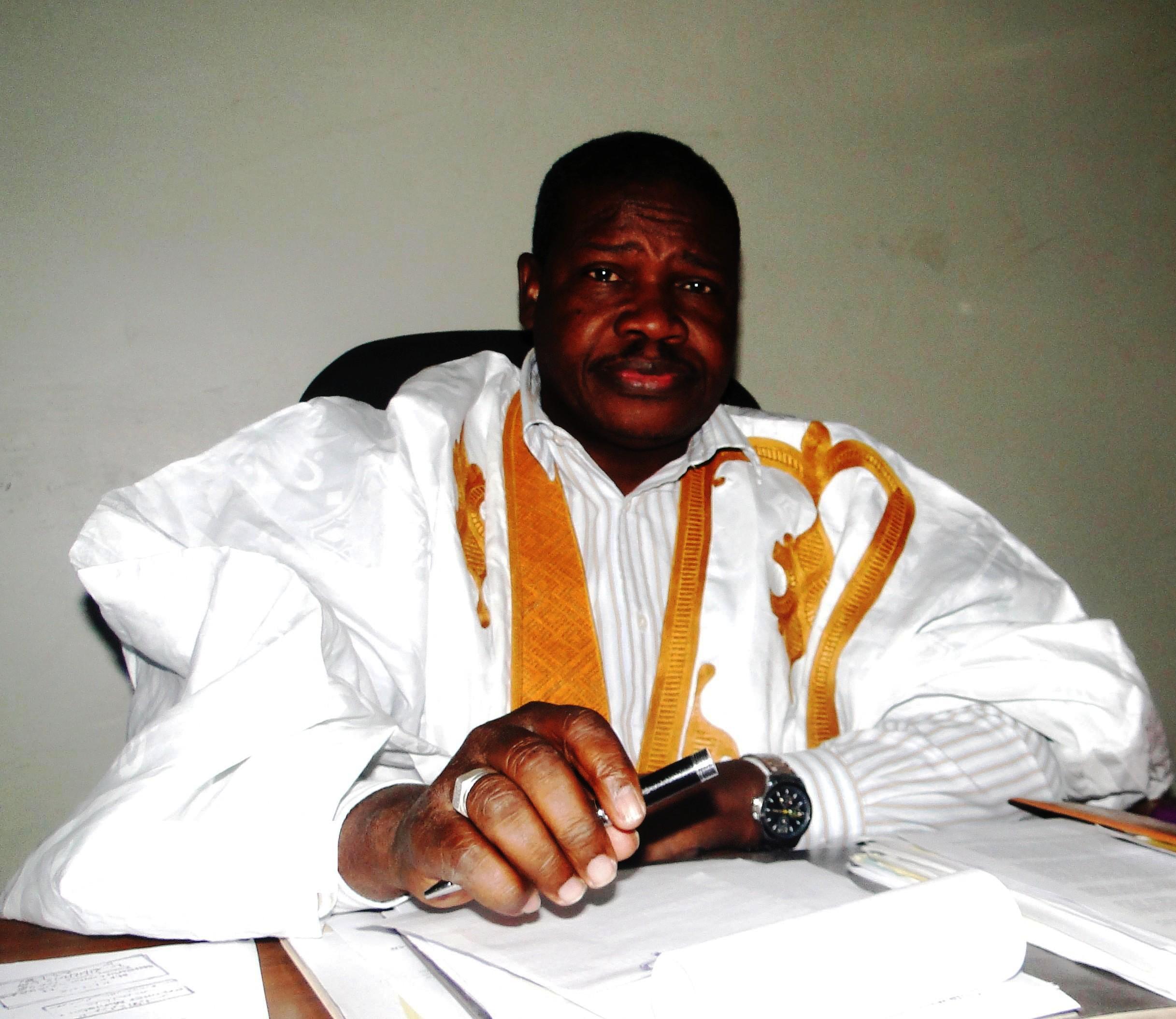 رئيس حركة الحر والقيادى البارز فى المعارضة الموريتانية السامورى ولد بي